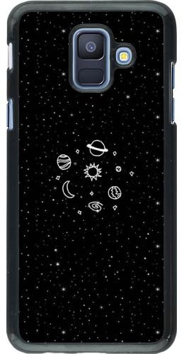 Coque Samsung Galaxy A6 - Space Doodle