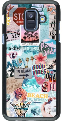 Coque Samsung Galaxy A6 - Summer 20 collage