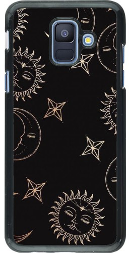 Coque Samsung Galaxy A6 - Suns and Moons