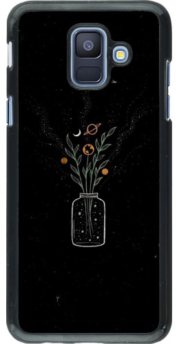 Coque Samsung Galaxy A6 - Vase black