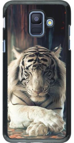 Coque Samsung Galaxy A6 - Zen Tiger