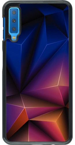 Coque Samsung Galaxy A7 - Abstract triangles