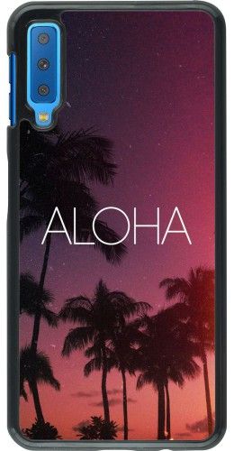 Coque Samsung Galaxy A7 - Aloha Sunset Palms