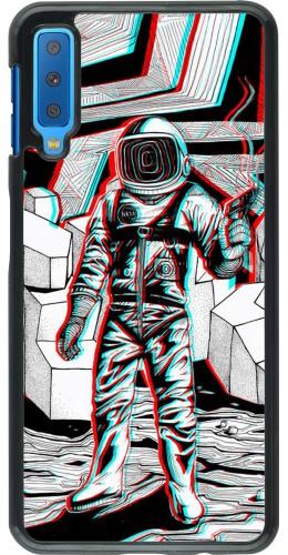 Coque Samsung Galaxy A7 - Anaglyph Astronaut