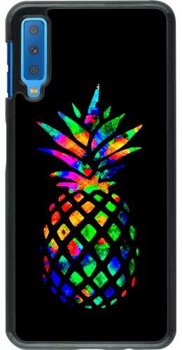 Coque Samsung Galaxy A7 - Ananas Multi-colors