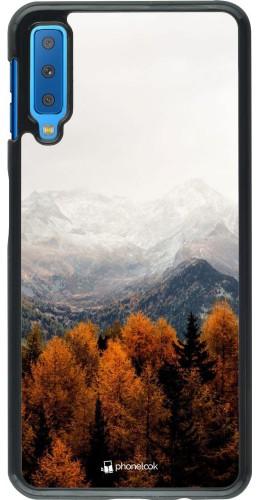 Coque Samsung Galaxy A7 - Autumn 21 Forest Mountain