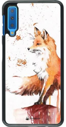 Coque Samsung Galaxy A7 - Autumn 21 Fox