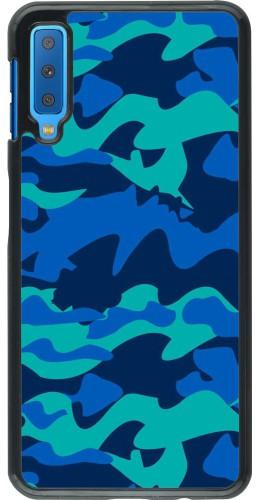Coque Samsung Galaxy A7 - Camo Blue