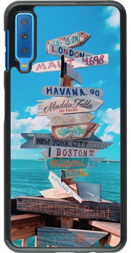 Coque Samsung Galaxy A7 - Cool Cities Directions