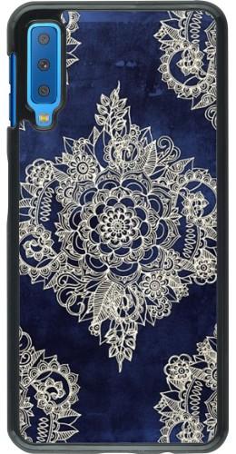 Coque Samsung Galaxy A7 - Cream Flower Moroccan