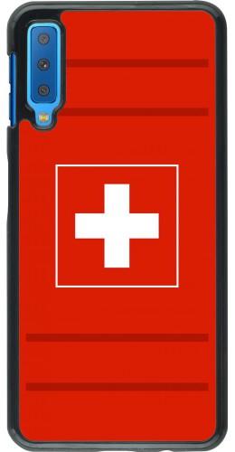 Coque Samsung Galaxy A7 - Euro 2020 Switzerland