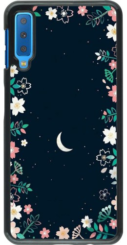 Coque Samsung Galaxy A7 - Flowers space