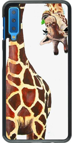 Coque Samsung Galaxy A7 - Giraffe Fit