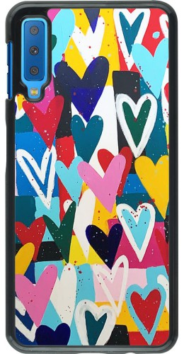 Coque Samsung Galaxy A7 - Joyful Hearts