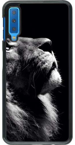 Coque Samsung Galaxy A7 - Lion looking up