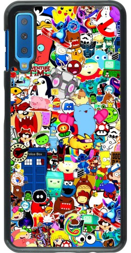 Coque Samsung Galaxy A7 - Mixed cartoons