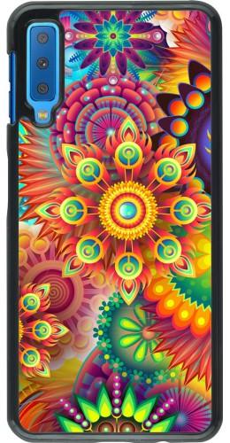 Coque Samsung Galaxy A7 - Multicolor aztec