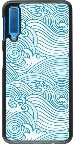 Coque Samsung Galaxy A7 - Ocean Waves