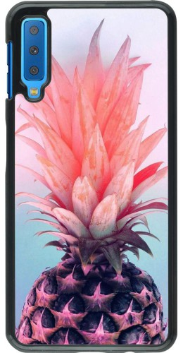Coque Samsung Galaxy A7 - Purple Pink Pineapple