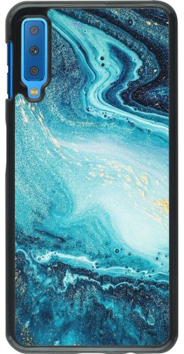 Coque Samsung Galaxy A7 - Sea Foam Blue