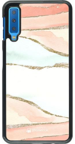 Coque Samsung Galaxy A7 - Shimmering Orange