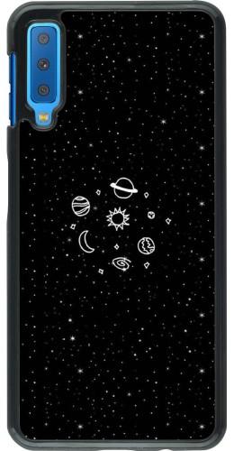 Coque Samsung Galaxy A7 - Space Doodle