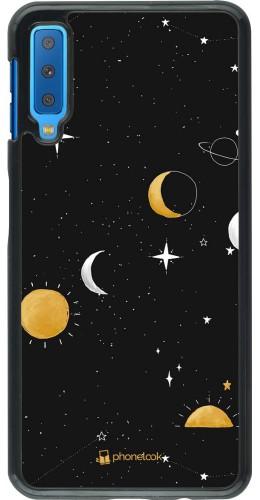 Coque Samsung Galaxy A7 - Space Vector