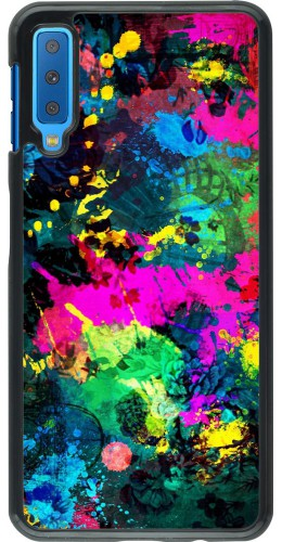 Coque Samsung Galaxy A7 - splash paint