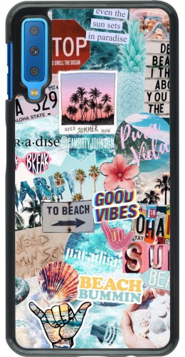 Coque Samsung Galaxy A7 - Summer 20 collage