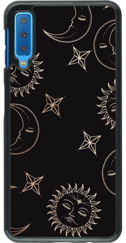 Coque Samsung Galaxy A7 - Suns and Moons