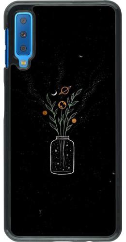 Coque Samsung Galaxy A7 - Vase black