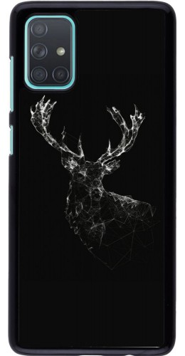 Coque Samsung Galaxy A71 - Abstract deer