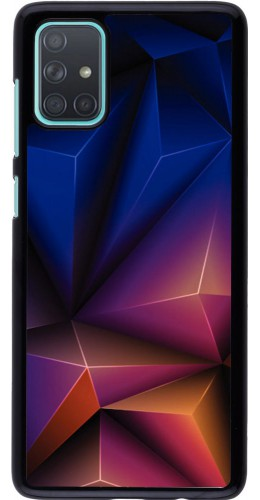 Coque Samsung Galaxy A71 - Abstract Triangles
