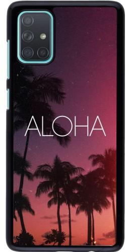 Coque Samsung Galaxy A71 - Aloha Sunset Palms