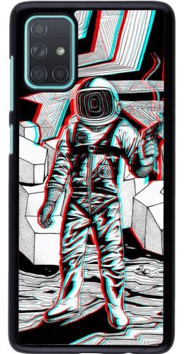 Coque Samsung Galaxy A71 - Anaglyph Astronaut