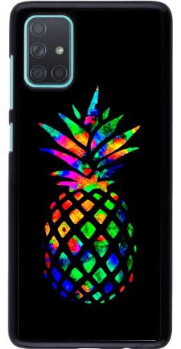 Coque Samsung Galaxy A71 - Ananas Multi-colors