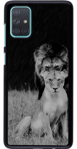 Coque Samsung Galaxy A71 - Angry lions