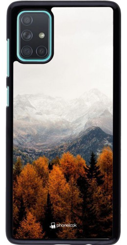 Coque Samsung Galaxy A71 - Autumn 21 Forest Mountain
