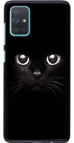 Coque Samsung Galaxy A71 - Cat eyes