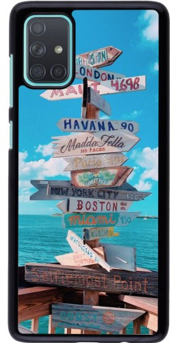 Coque Samsung Galaxy A71 - Cool Cities Directions