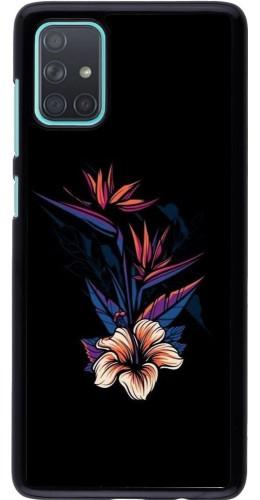 Coque Samsung Galaxy A71 - Dark Flowers