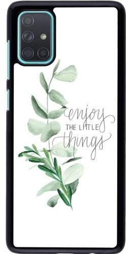 Coque Samsung Galaxy A71 - Enjoy the little things