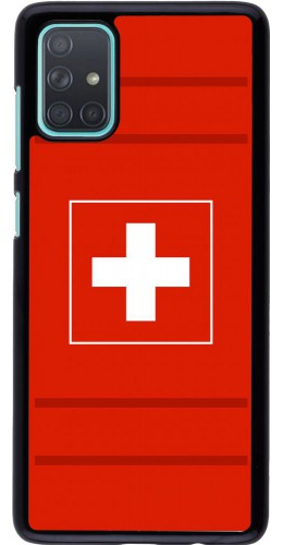 Coque Samsung Galaxy A71 - Euro 2020 Switzerland
