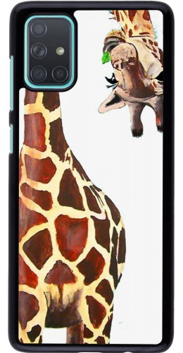 Coque Samsung Galaxy A71 - Giraffe Fit