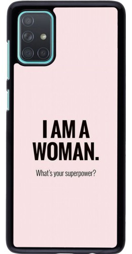 Coque Samsung Galaxy A71 - I am a woman