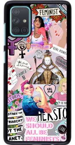 Coque Samsung Galaxy A71 - Girl Power Collage