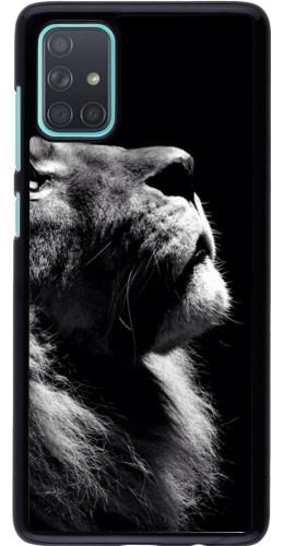 Coque Samsung Galaxy A71 - Lion looking up