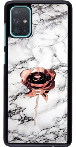 Coque Samsung Galaxy A71 - Marble Rose Gold