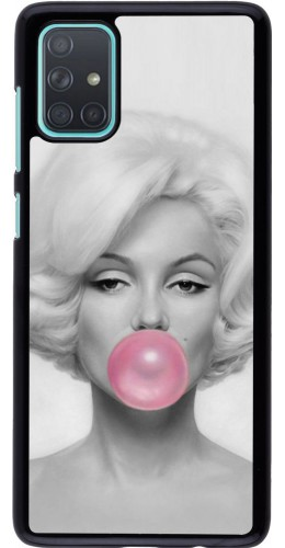 Coque Samsung Galaxy A71 - Marilyn Bubble