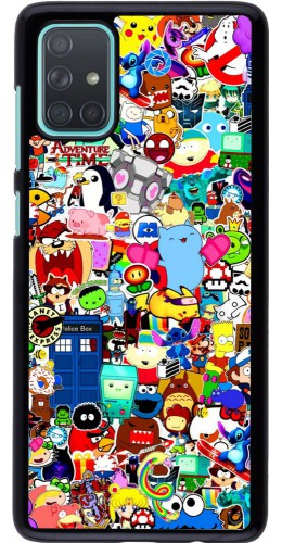 Coque Samsung Galaxy A71 - Mixed cartoons